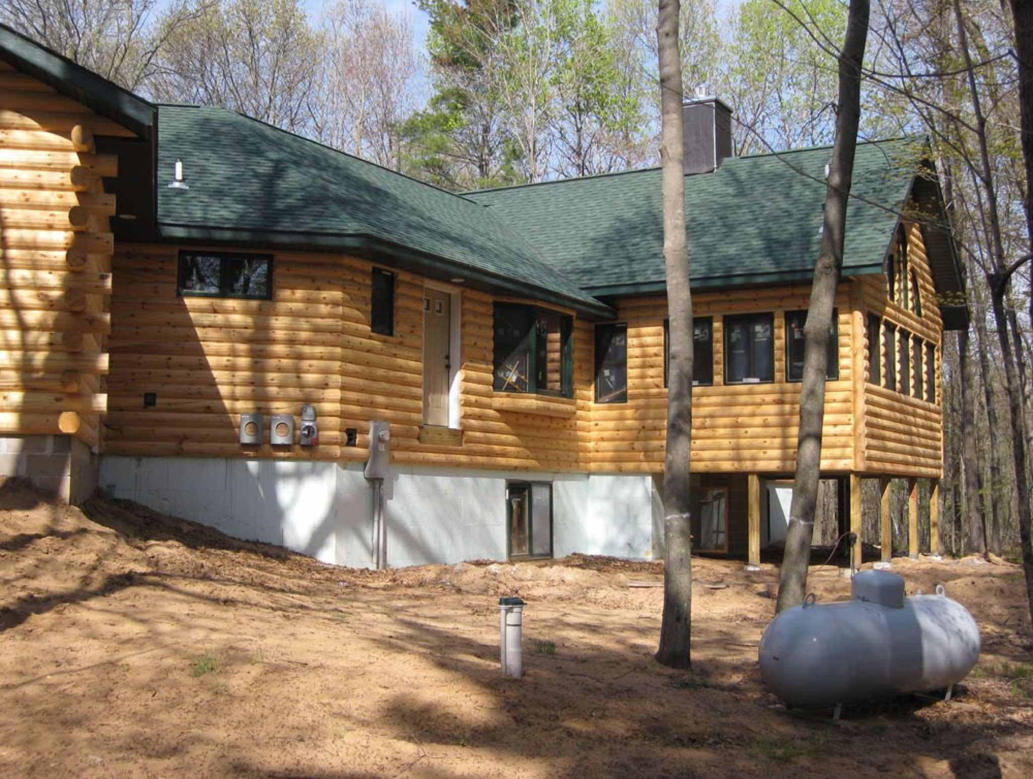 Minnesota and wisconsin log cabin builders for Wisconsin home builders