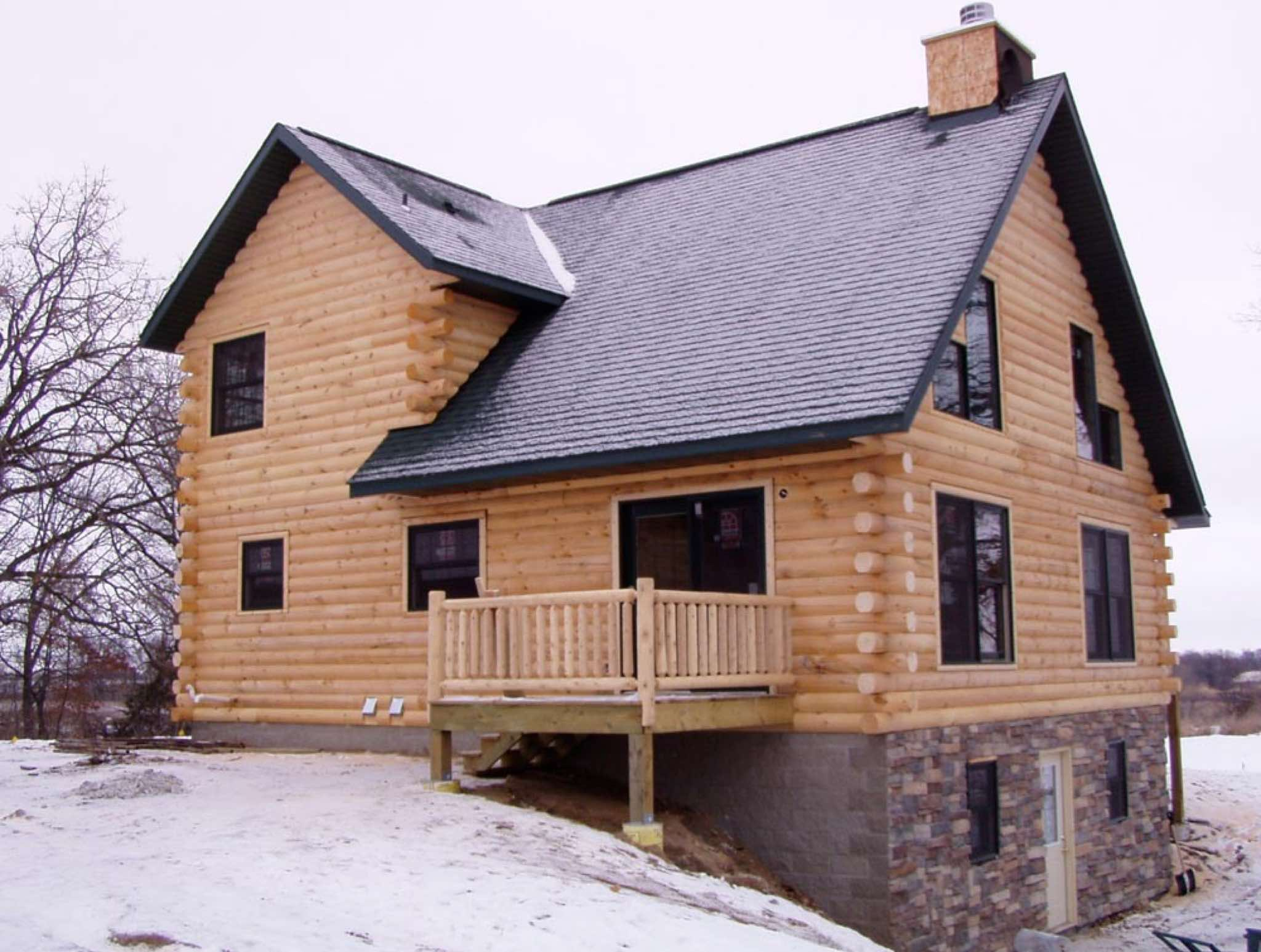 Minnesota and wisconsin log cabin builders for Wisconsin log cabin