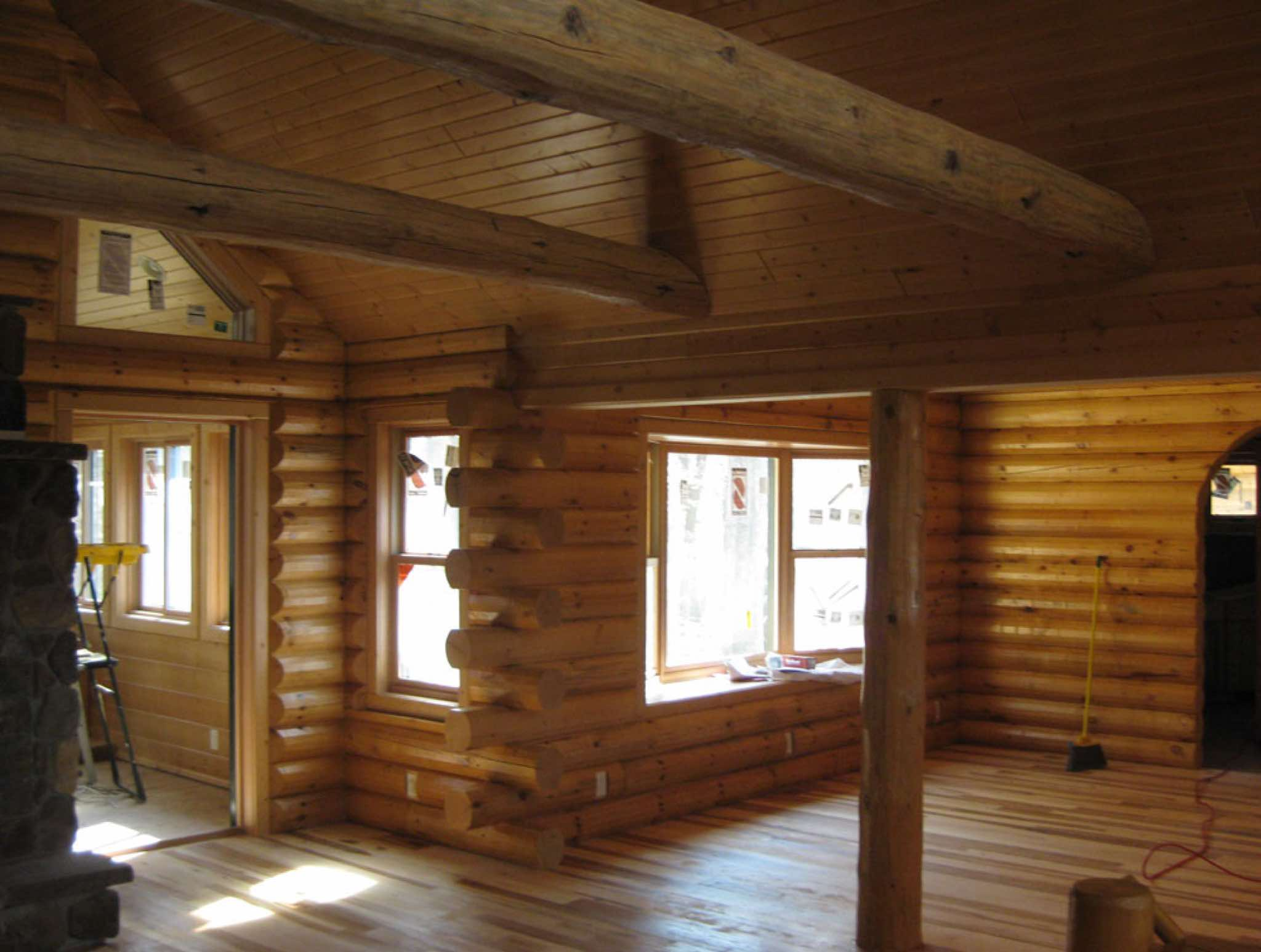 Log cabin builders minnesota my marketing journey for Log cabin builders in alabama