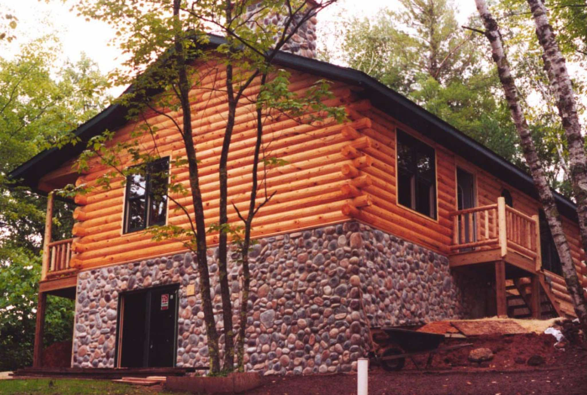 ... A 900 Sq, Ft. Cabin In Wisconsin ...