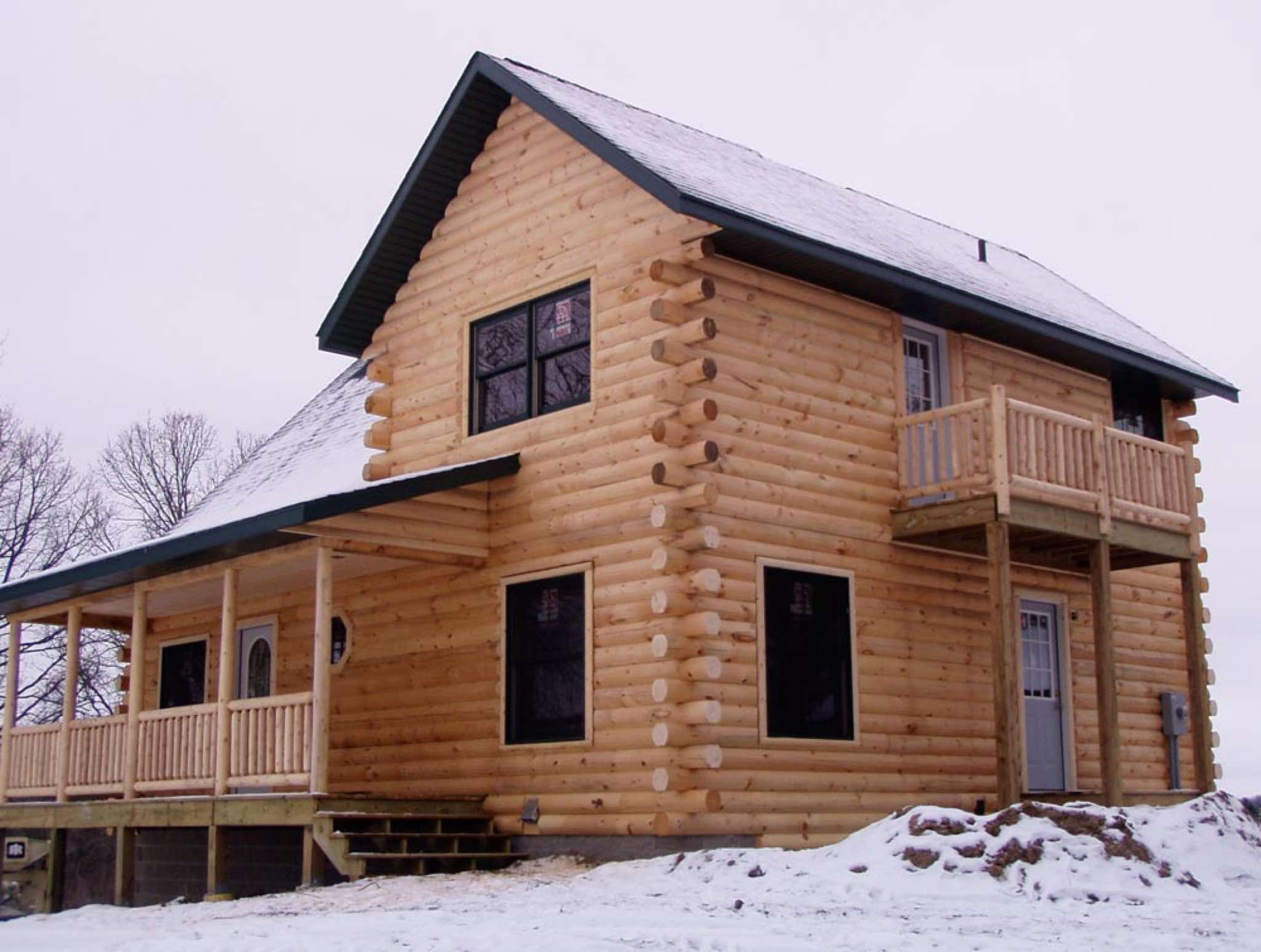 Minnesota and wisconsin log cabin builders for Building a house in minnesota
